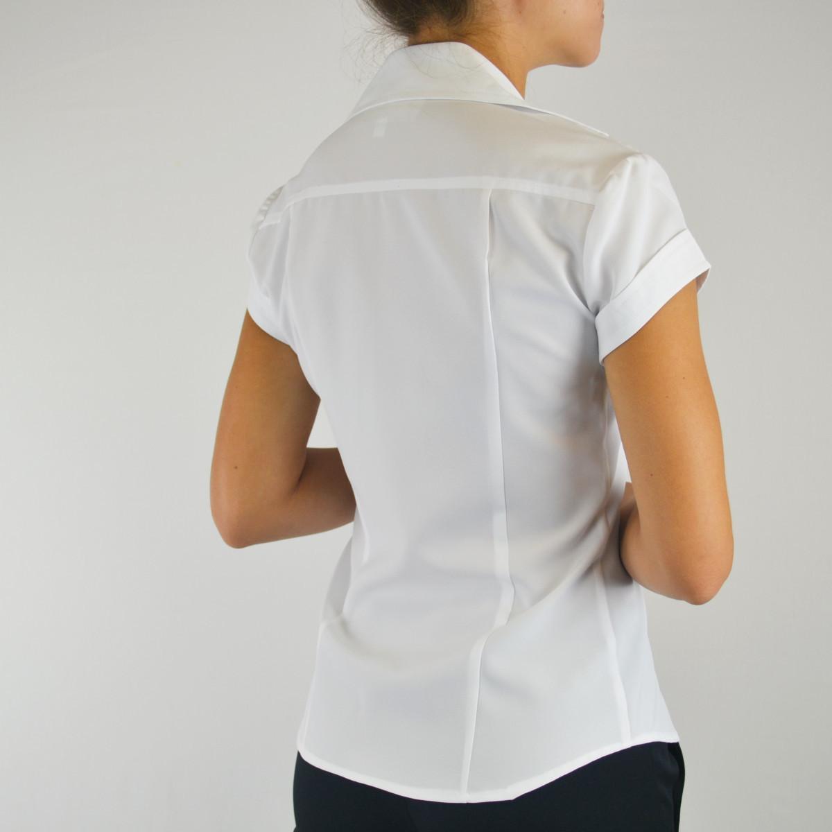 e3b5762476d Womens Cap Sleeve V-neck Blouse Z - Smallwood s Yachtwear
